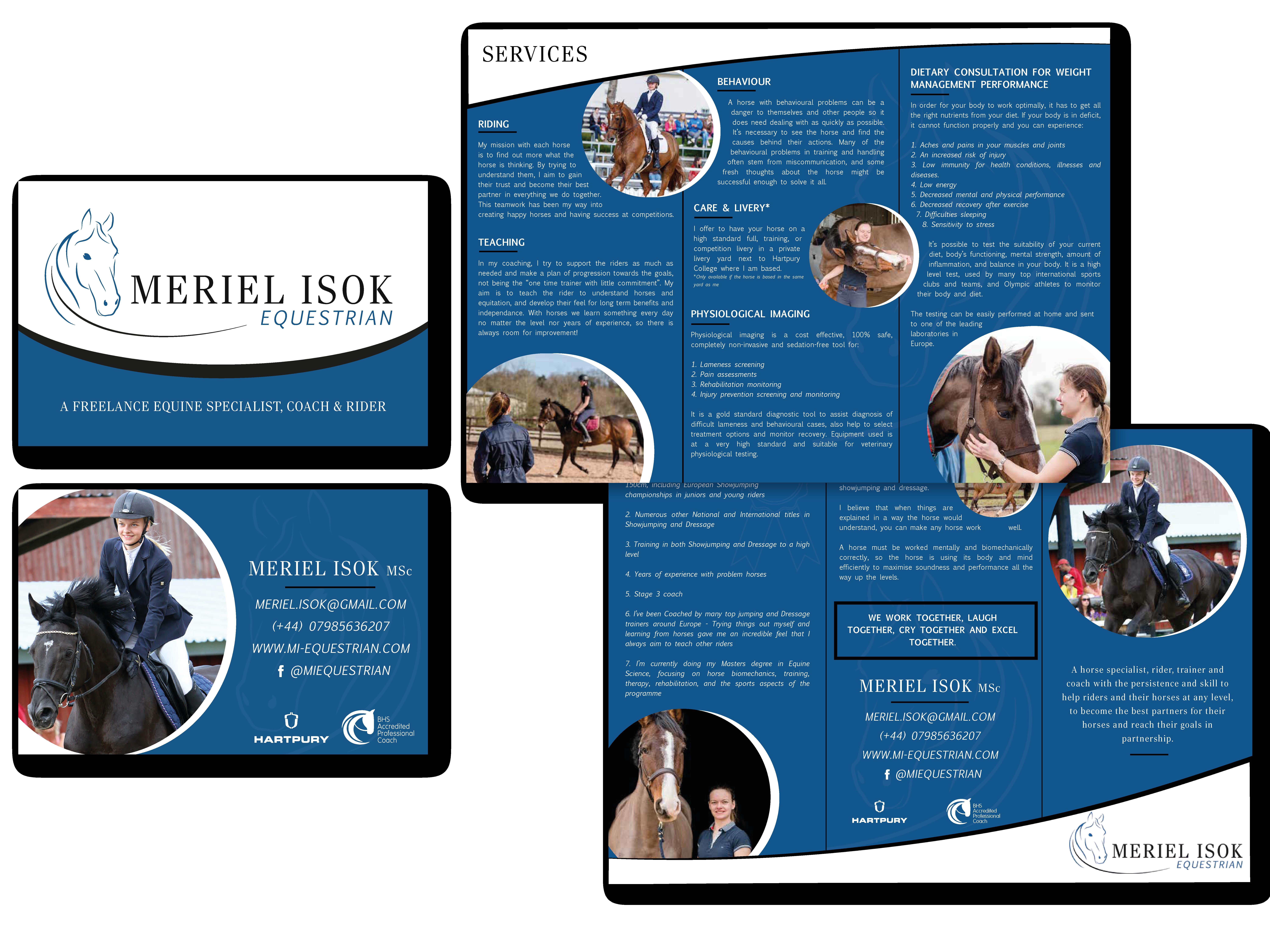equestrian graphic design