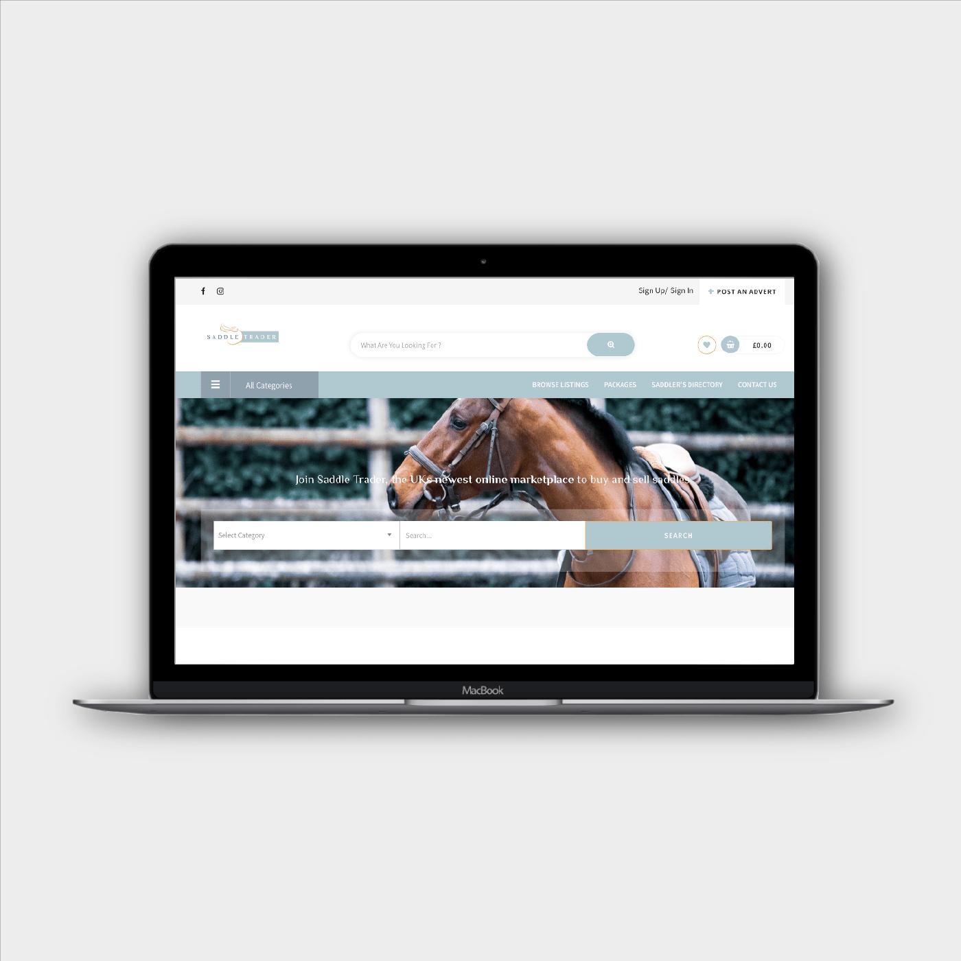 saddle trader laptop website