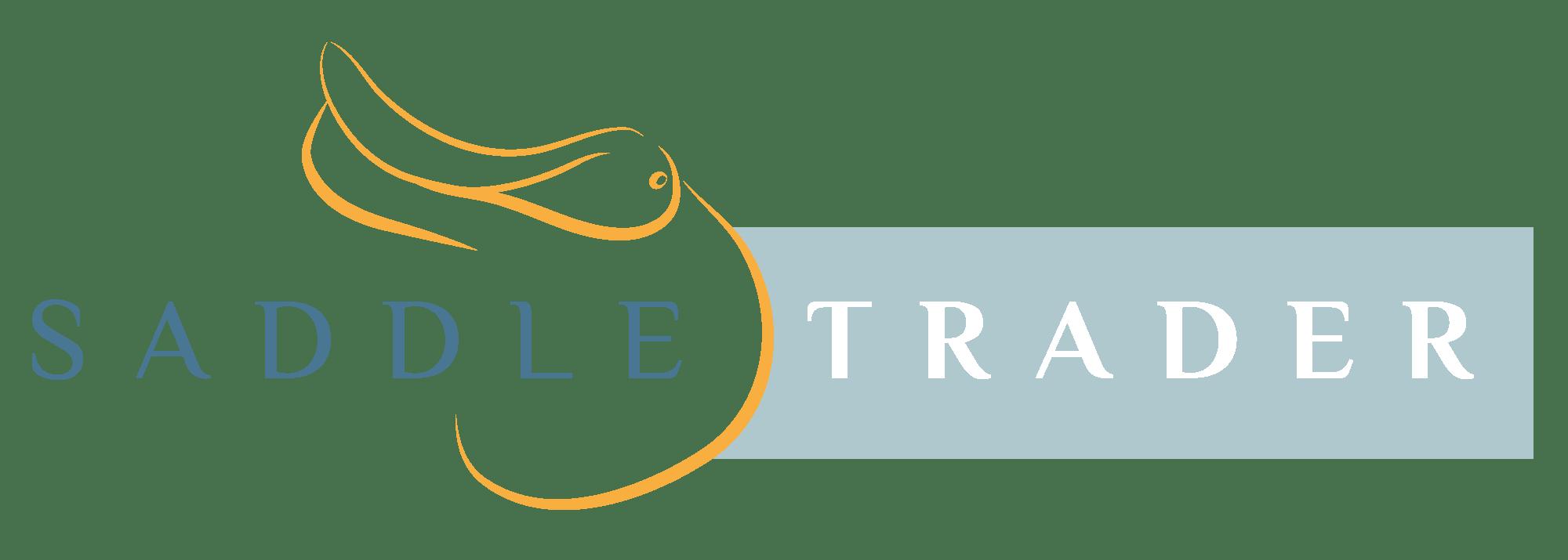 equestrian logo design saddle trader