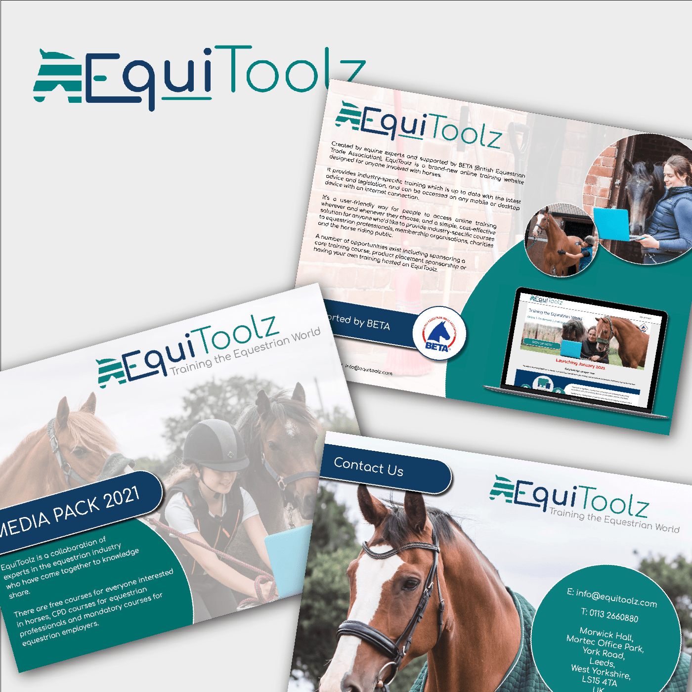 EquiToolz leaflet pages