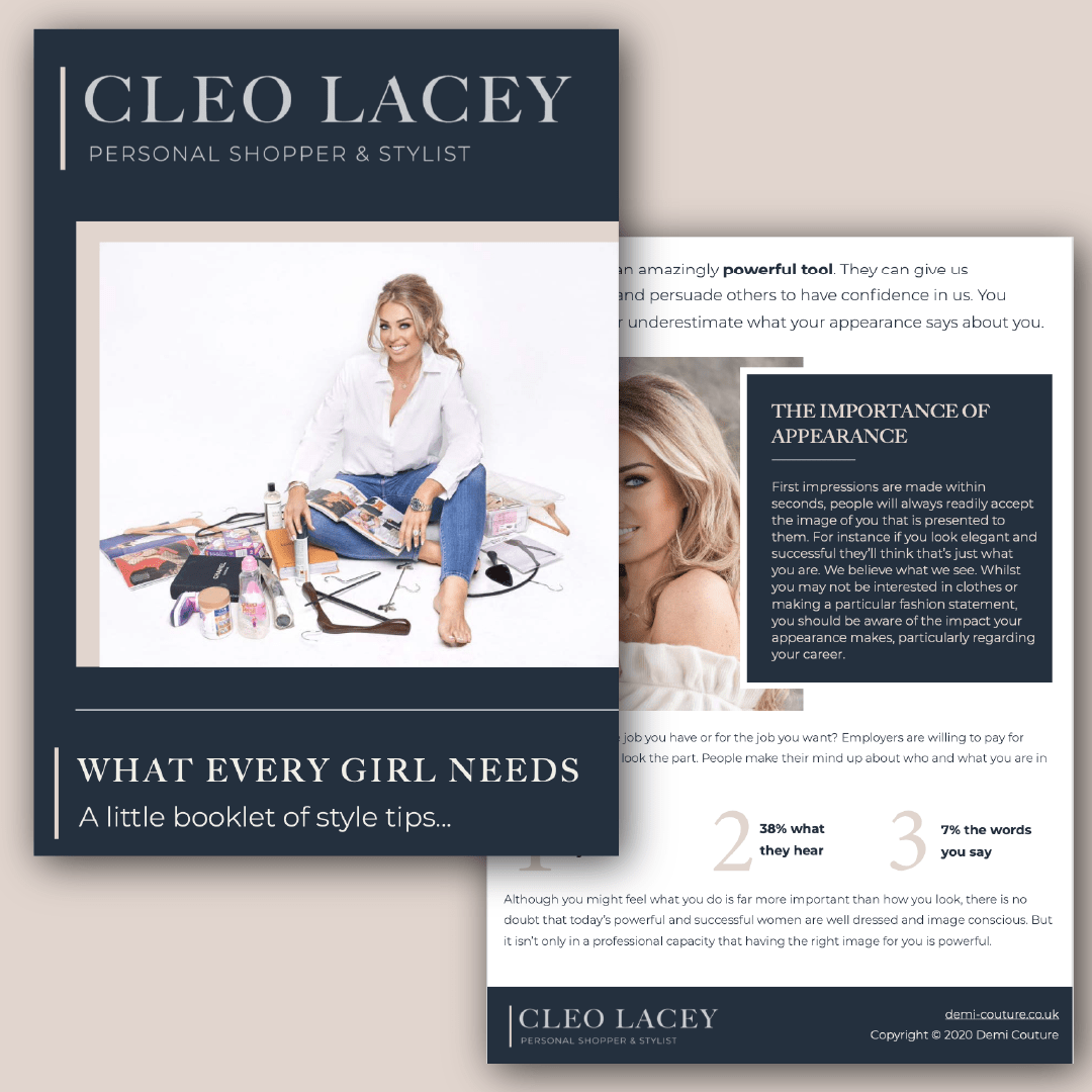 cleo lacey leaflet